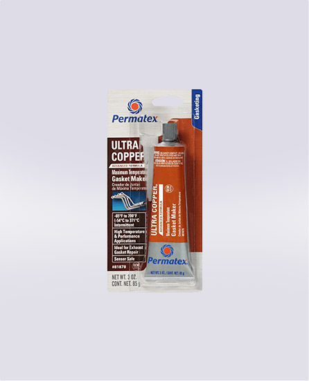 Permatex® Ultra Copper® Maximum Temperature RTV Silicone Gasket Maker