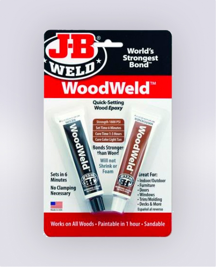 WOODWELD™ TWIN TUBE - 1.5 OZ (SKU: 8251)