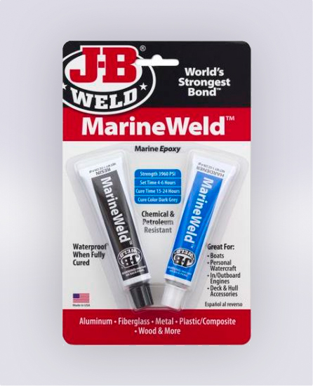 MARINEWELD™ TWIN TUBE - 2 OZ  (SKU: 8272)