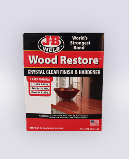 WOOD RESTORE™ PREMIUM LIQUID EPOXY 32 OZ (SKU: 40002)